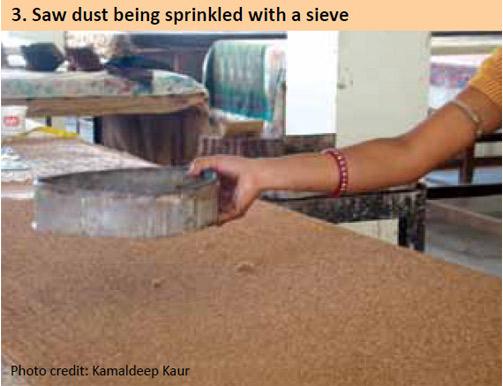 dust-being-sprinkled