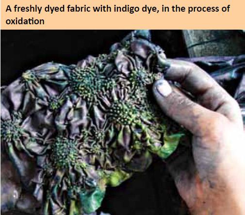 freshly-dyed-fabric